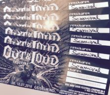 """3-Days-Festival-Ticket """"Out & Loud 2016"""" (Coupon) incl. Camping"""