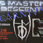 "Now in stock!  Tickets ""His Masters Descent"" Phobophiliac Release Party"