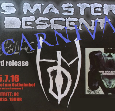 """Tickets """"His Masters Descent"""" Phobophiliac Release Party"""