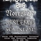 SCARNIVAL hit the road again // NORTHERN STORM 2016
